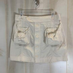 Marc Jacobs Khaki Cargo Pocket Mini Skirt 4